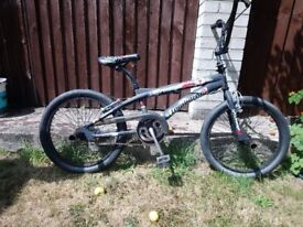 BMX Lombardo freestyle boneyard bicycle hardly ever used needs some tlc and a new owner