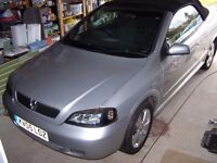ASTRA CONVERTIBLE 1.6 2005 M.O.T. JUNE FOR SPARES/REPAIR. PLEASE READ AD. FULLY.