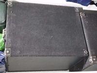 RCF ESW1018 Horn Reflex Subwoofer Bass Bins DJ Speaker X 2