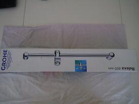Grohe relaxa 600mm shower riser rail.