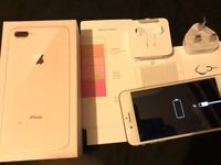 iPhone 8 Plus - 256GB - Rose Gold - Unlocked To All Networks