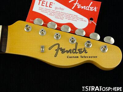 "USA Fender Custom Shop 1960 Telecaster Custom NOS NECK+ TUNERS Tele Rosewood ""C"""