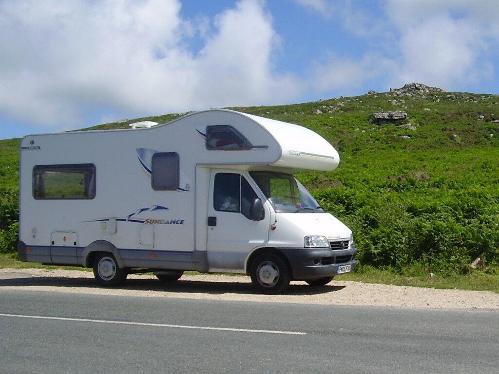 fiat ducato swift sundance camper van 2.3 jtd | in beauly
