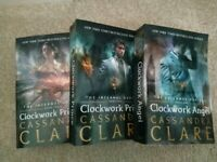 The infernal devices books full 1-3 MORTAL INSTRUMENT AUTHOR