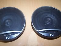 "for sale car speakers car stereo fli fu 120watt very good working order 5,5""car radio cd"