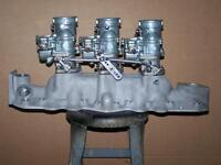 Ford Flathead Intake and Carbs