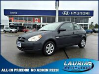 2008 Hyundai Accent GL - 1 owner - LOW KMS!!