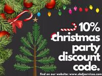 Shaun Brady DJ Services: Christmas Party Discount