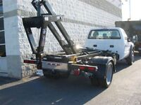 2015 Ford F-550 4x4 diesel with hook lift