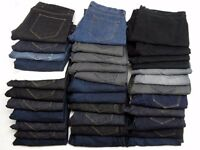 Job lot's NEW Mens Jeans FACTORY SECONDS Excellent for resale - Trade welcome ((( LOOK )))