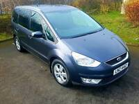Ford galaxy full service history 7 seater