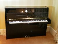 Ritmuller Upright Piano in Black
