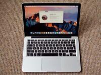 MacBook Pro (Retina, 13-inch) 2.5GHz Intel i5, 8GB RAM, 120GB SSD, Great Condition