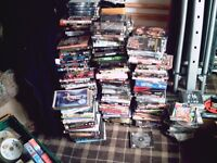 dvds lots of and videos