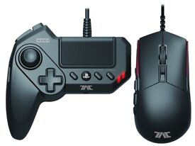HORI Tactical Assault Commander GRIP (TAC: GRIP) KeyPad and Gamepad Controller for PS4/PS3/PC FPS