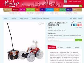 Lunar RC Stunt Car - brand new £17 (rrp £35)