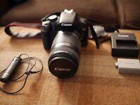 Canon 450D Rebel XSi DSLR Camera and EF-S 55mm - 250mm & 17mm - 85mm Lens bundle