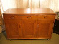 Retro Mid Century Wooden Sideboard