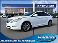 2013 Hyundai Sonata 2.0T Limited - Navigation - 1 owner