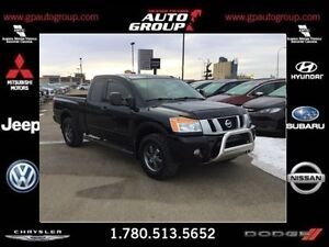 2014 Nissan Titan Pro4X | Capable of towing 9500 lbs