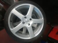 17' ford peugeot volvo alloys and tyres