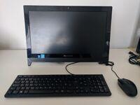 Lenovo C260 All in One Desktop 256gb ssd