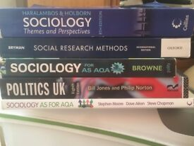 Sociology HND course books x 5