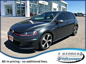 2015 Volkswagen Golf GTI Autobahn Manual - Leather / Sunroof