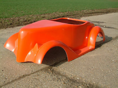 37 FORD HOT ROD/ TOT ROD BODY SHELL IN GRP