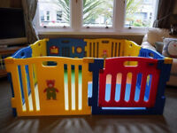 MCC Plastic Baby Playpen with Activity panel, 8 Sides