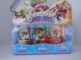 skylanders trap team triple pack