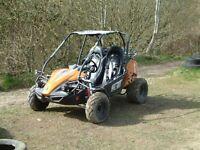 Hammerhead 150cc petrol buggy made by Polaris
