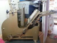 Gold Leaf / Hot Foiling Machine - In Very Good Working Condition