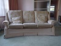 Sofa and Matching Armchair - lovely comfy sofa and matching chair. Free to collect.