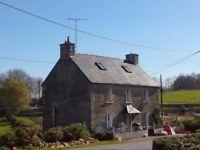Detached cottage in Brittany France, for live aboard boat/barge or motorhome
