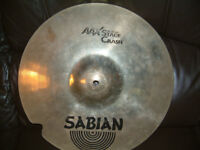 SABIAIN AAX STAGE CRASH CYMBAL 16 INCH