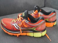 WORN ONCE: Saucony ISO Series Triumph PowerGrid UK9.5