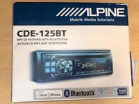 Car Stereo Bluetooth System Brand NEW