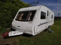 Swift conqueror 630 2005 caravan TWO Isabella awning and motor mover Excellent condition