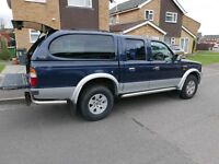 2004 FORD RANGER XLT 2.5T Double Cab 4x4 With Rear Canopy