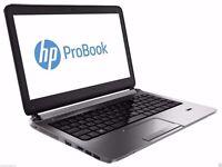 """HP PROBOOK 14.1"""" Laptop - 8GB RAM 500GB WEBCAM Wireless DVD Warranty last few"""