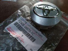 * * * * x3 Toyota Centre Cap, Genuine, BRAND NEW * * * *