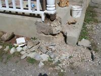 Concrete & Masonry Repairs, Parging