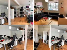 **Desk Spaces available in De Beauvoir/Dalston in creative studio, 250 p/m**