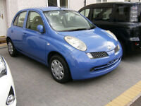 2006 NISSAN MICRA *** TV/MP3/DVD/30GB HDD***FRESH JAPAN IMPORT