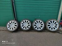 """Jaguar XF 19"""" alloy wheels, tyres for free"""
