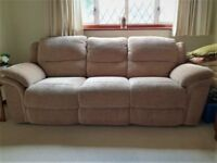 3 Piece Electric Recliner Sofa/Arm Chair Suite