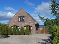 Unique Secluded 3-4 Bedroom Detached House - LUTHERMUIR - available now