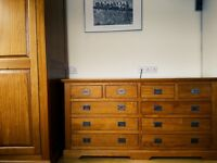 Beautiful, Macadamia Chest of Drawers with a nice warm feel.