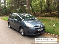 MID MONTH SALE 2007 Citroen Grand Picasso 1,6 litre diesel 5dr 7 seater 2 owners
